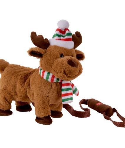 Musical Walking Reindeer