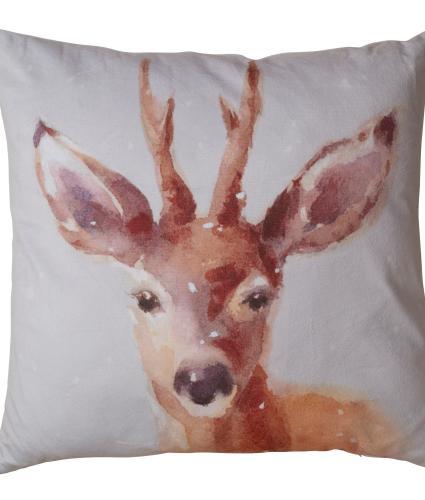 Large Reindeer Cushion