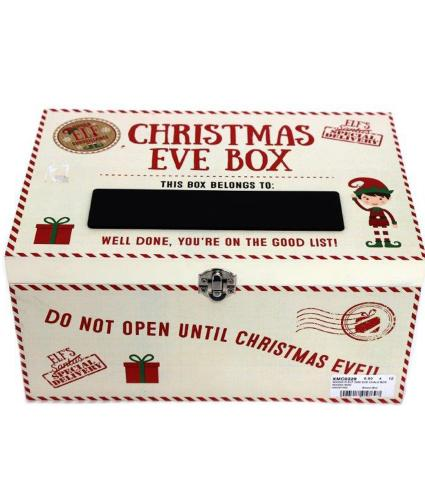 White Christmas Eve Chalk Box
