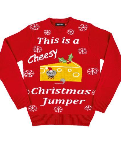 Cheesy Christmas Jumper