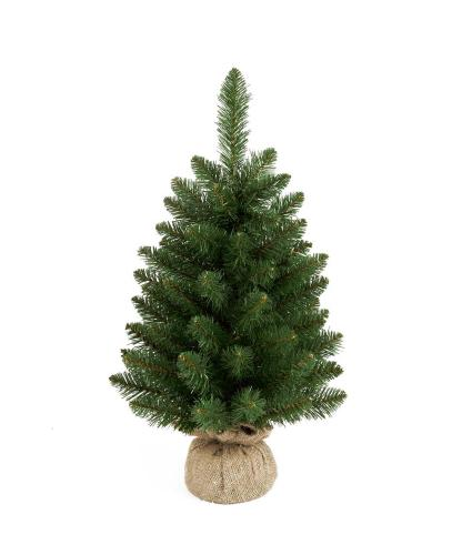 60cm Green Burlap Christmas Tree
