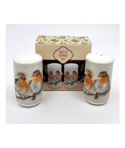 Robin Salt & Pepper Set