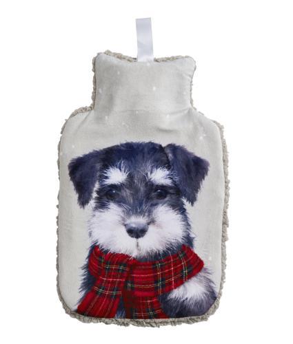 Winter Dog Hot Water Bottle