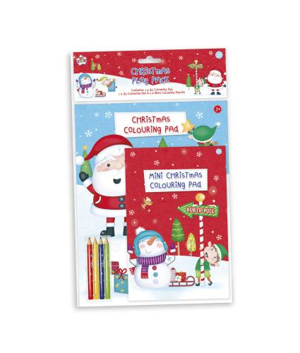 Christmas Colouring Play Pack
