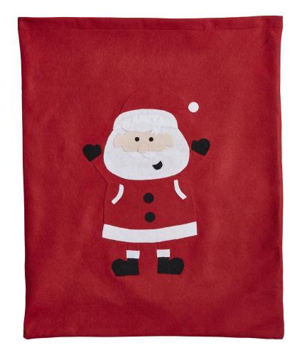 Red Felt Santa Sack