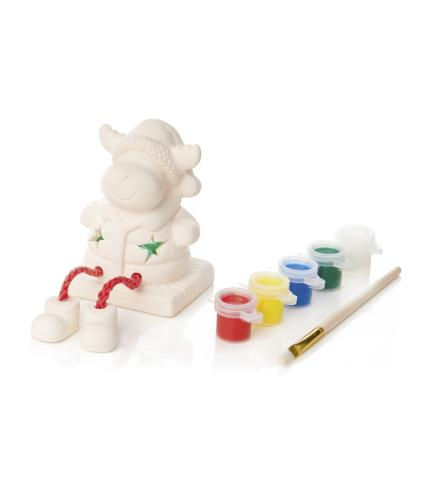 Paint Your Own Reindeer Character