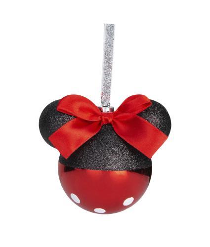Disney Minnie Mouse Glass Bauble