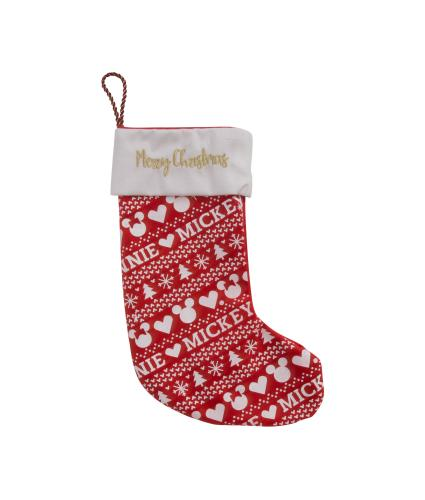 Disney Mickey Mouse & Minnie Mouse Christmas Stocking