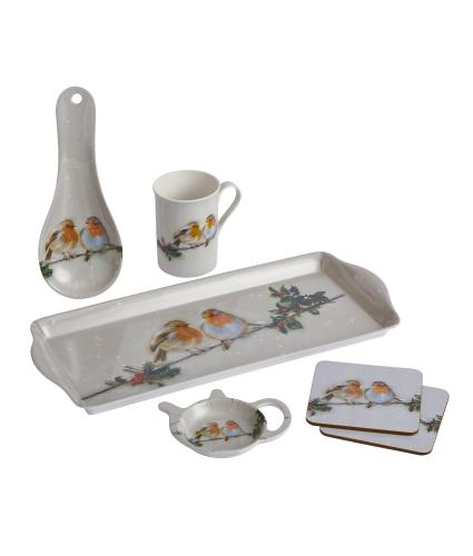 Winter Robin Teaset Bundle