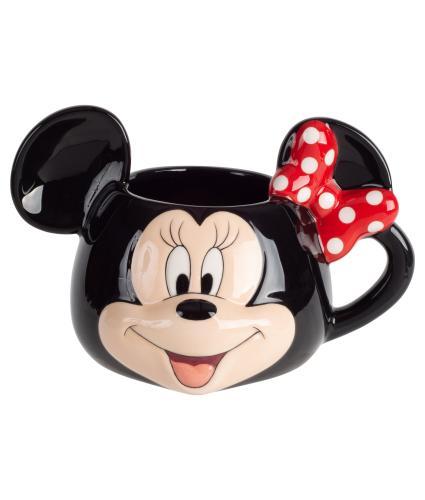 Disney 3D Minnie Mouse Ceramic Mug