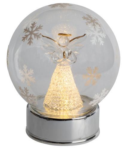 Angel Glass Ball LED Lit Decoration
