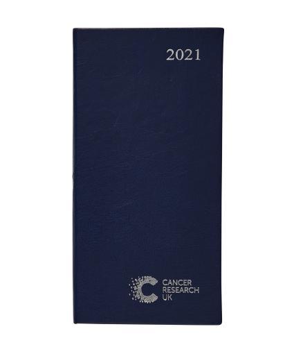 2021 Pocket Diary Dark Blue