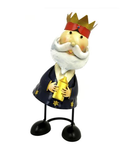 Wobbling Head King Decorations - Navy