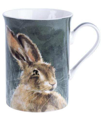 Winter Hare Boxed China Mug