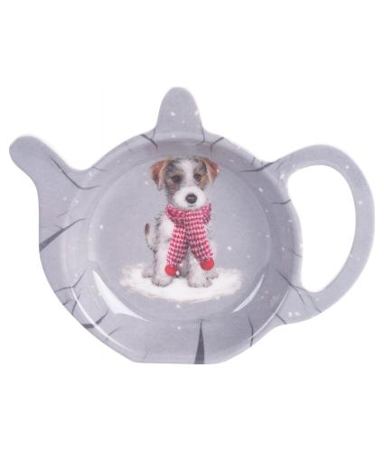 Winter Dog Tea Bag Tidy 2021