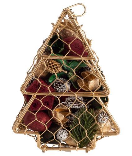 Cinnamon Orange Christmas Tree Pot Pourri