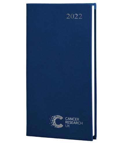 2022 Pocket Diary Dark Blue