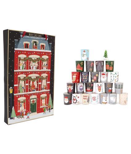 Spice Berry Votive Tealight Candle Advent Calendar
