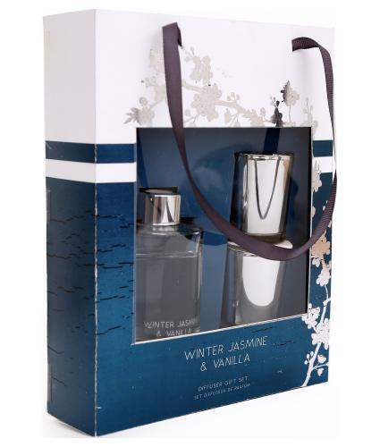 Winter Jasmine & Vanilla Reed Diffuser Gift Set