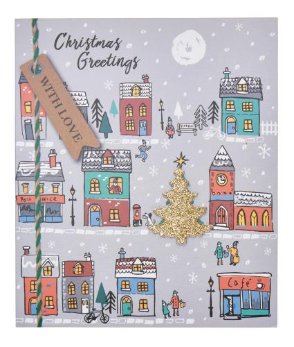 Christmas Town Christmas Cards - Pack of 8