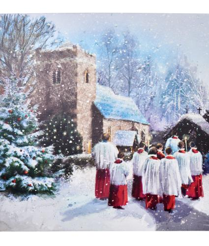 Church and Choir Christmas Cards - Pack of 10