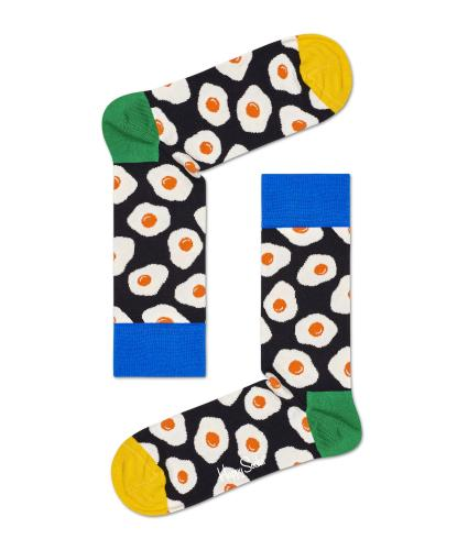 Happy Socks Sunny Side Up Fried Egg Socks