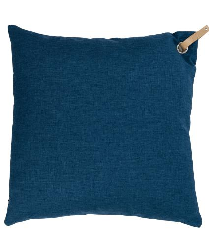 Large Blue Scatter Cushion