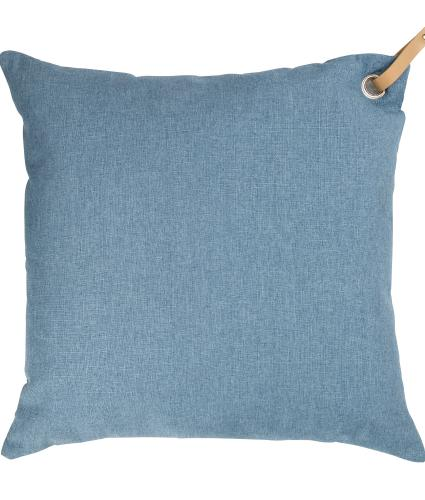Large Light Blue Scatter Cushion