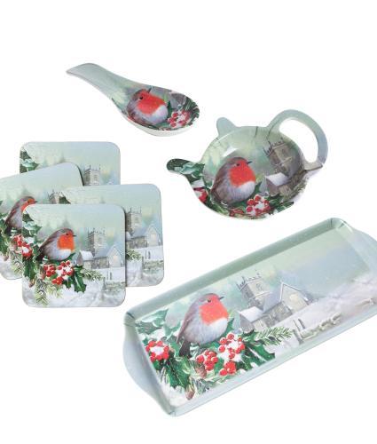 Winter Robin Kitchenware Bundle