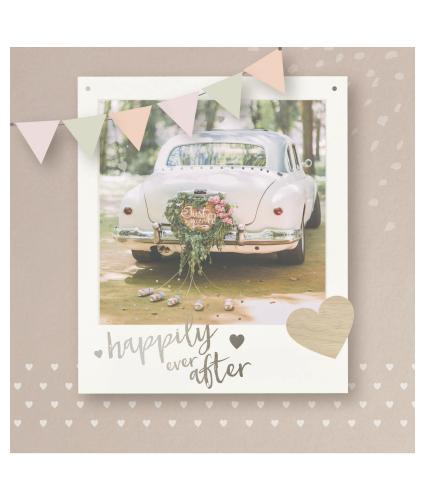 New Adventures Wedding Greetings Card