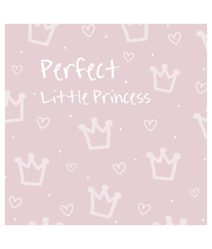 Perfect Little Princess New Baby Greetings Card