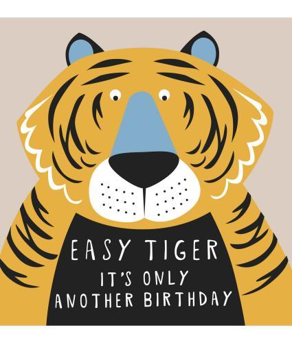 Easy Tiger Birthday Card