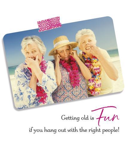 Ladies Behaving Badly Birthday Card