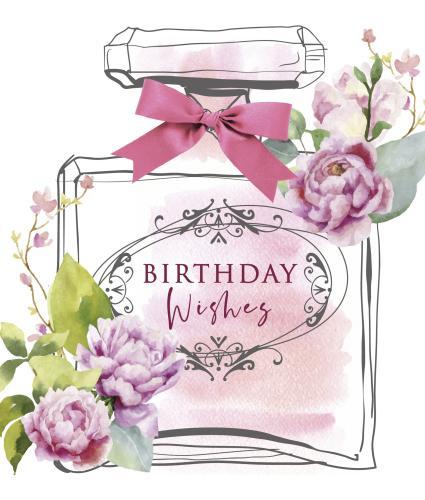 Birthday Bottle Birthday Card