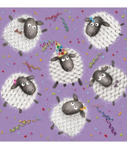It's Time To Party Celebration Greetings Card
