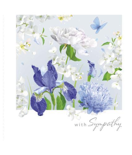 Softly Illustrated Sympathy Card