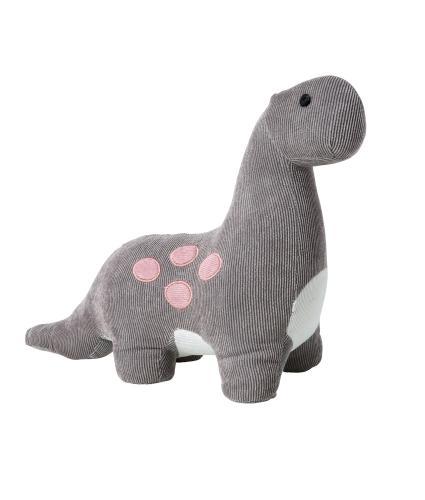 Grey Dinosaur Doorstop