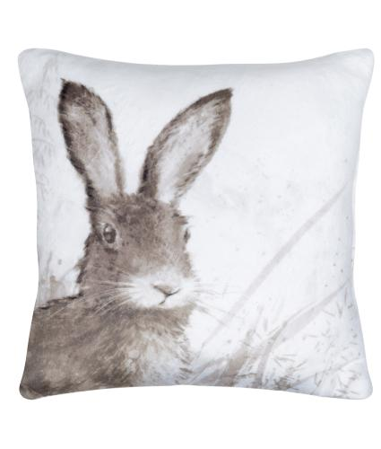 Hare Small Cushion