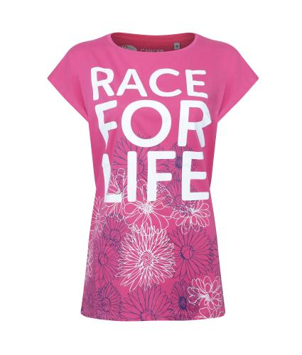 Race for Life Floral T-shirt - 8