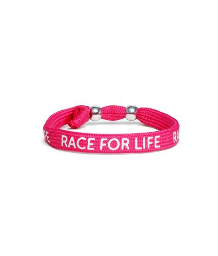 Race for Life Wristband