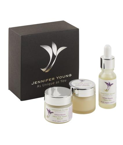 Jennifer Young® Defiant Beauty Hand & Nail Miniatures Gift Box