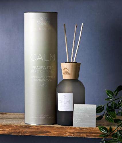 Serenity Calm Reed Diffuser - Bergamot, Lavender & Sandalwood