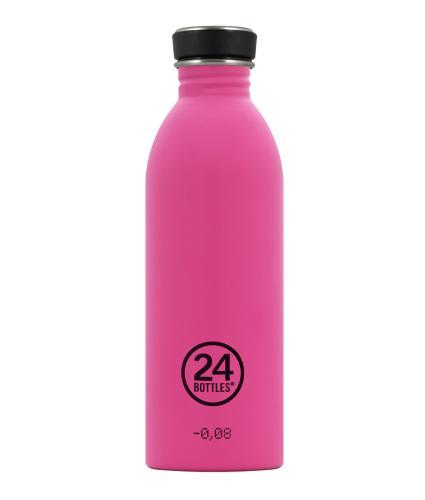 24 Bottles Urban Drinks Bottle Passion Pink