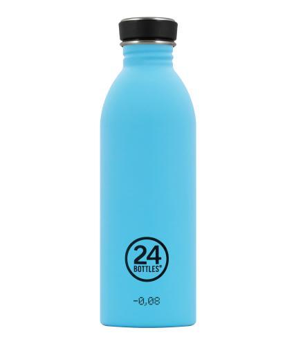 24 Bottles Urban Drinks Bottle Lagoon Blue