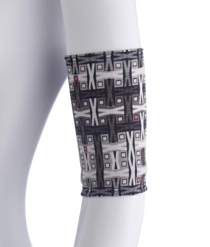 Hipheadwear PICC Line Cover Band in Geo X Print
