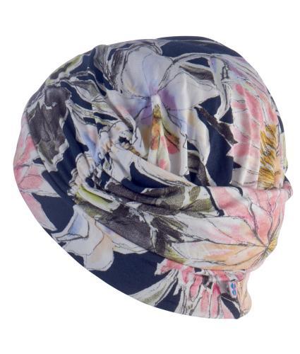 Hipheadwear Turban Cap in Flower Print