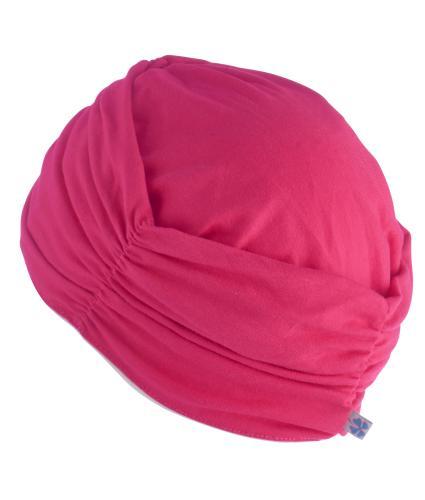 Hipheadwear Turban Cap in Hot Pink