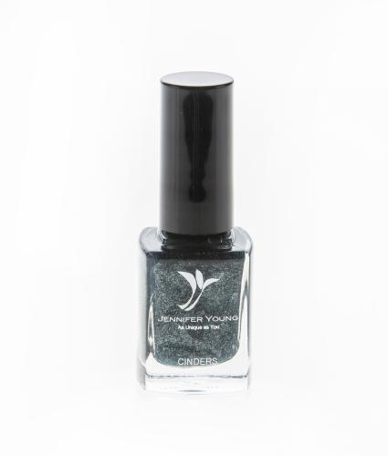 Jennifer Young High Coverage Nail Varnish Cinders