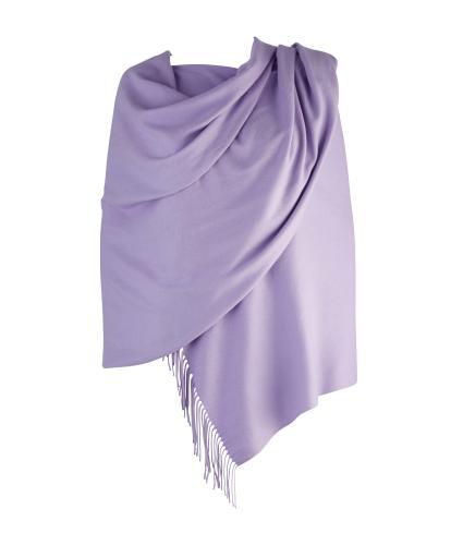 Cavallo Moda Large Soft Pashmina Scarf in Lilac