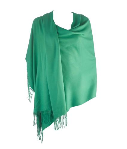 Cavallo Moda Large Soft Pashmina Scarf in Grass Green
